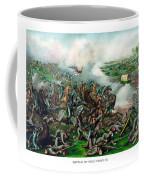 Battle Of Five Forks Coffee Mug