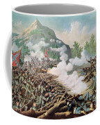 Battle Of Kenesaw Mountain Georgia 27th June 1864 Coffee Mug by American School