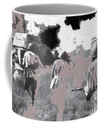 Battle Of Kursk Advancing Soviet Soldiers 1942 Color Added 2016 Coffee Mug