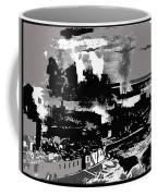 Battle Of Stalingrad Nazi Plane Crossing Volga River 1942 Coffee Mug