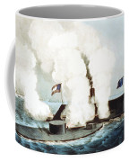 Battle Of The Monitor And Merrimack Coffee Mug