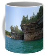 Battleship Row Rocks Coffee Mug