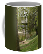 Bavarian Covered Bridge Over The Cass River Frankenmuthmichigan Coffee Mug