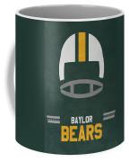 Baylor Bears Vintage Football Art Coffee Mug