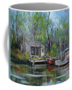 Bayou Shrimper Coffee Mug