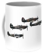 Bbmf Flight - High Key Coffee Mug