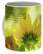 Be Like The Sunflower Coffee Mug