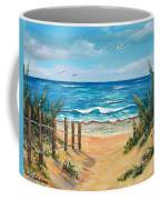 Beach Access Coffee Mug
