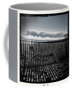 Beach And Fence Coffee Mug