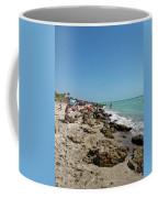 Beach And Rocks Coffee Mug