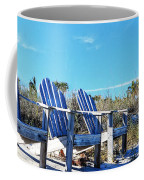Beach Art - Waiting For Friends - Sharon Cummings Coffee Mug
