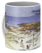 Beach At Cabasson Coffee Mug