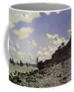 Beach At Honfleur Coffee Mug