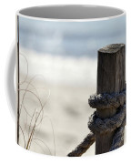 Beach Barrier Coffee Mug