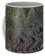 Beach Bubbles Abstract Coffee Mug