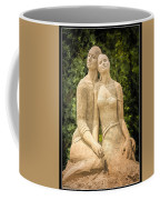 Beach Buddies Blue Water Sand Sculpture Coffee Mug