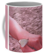 Beach Butterfly Coffee Mug