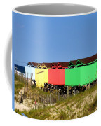 Beach Cabanas Coffee Mug