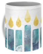 Beach Colors Menorah- Art By Linda Woods Coffee Mug