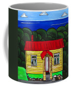 Beach Cottage Coffee Mug