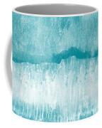 Beach Day Blue- Art By Linda Woods Coffee Mug
