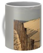 Beach Fence, Cape Cod Coffee Mug