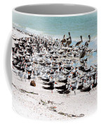 Beach Flock Coffee Mug
