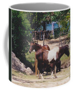 Beach Horses Coffee Mug
