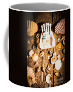 Beach House Artwork Coffee Mug