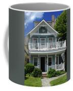 Beach House Panel 3 From Triptych Coffee Mug