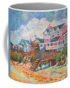 Beach Houses At Pawleys Island Coffee Mug
