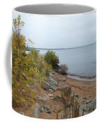 Beach In Escanaba Coffee Mug