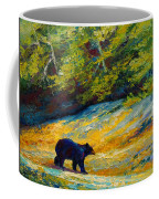 Beach Lunch - Black Bear Coffee Mug