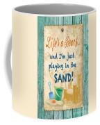 Beach Notes-jp3762 Coffee Mug