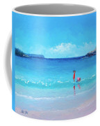 Beach Painting - A Sea Breeze Coffee Mug