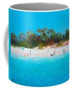 Beach Painting All Summer Long Coffee Mug