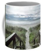Beach Path Coffee Mug