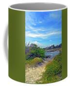 Beach Path Wisdom Coffee Mug