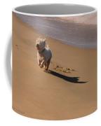 Beach Puppy Coffee Mug