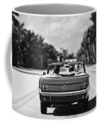 Beach Road  - 1965 Mustang  Coffee Mug by Laura Fasulo