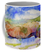 Beach Rocks Coffee Mug