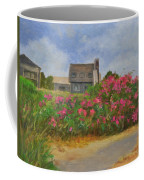 Beach Roses And Cottages Coffee Mug
