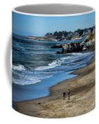 Beach Scene California  Coffee Mug
