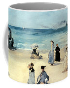 Beach Scene Coffee Mug