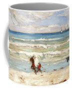 Beach Scene Tangier Coffee Mug
