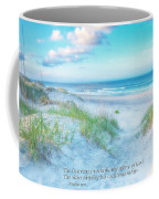 Beach Scripture Verse  Coffee Mug