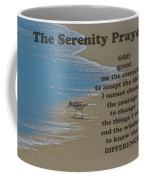 Beach Serenity Prayer Coffee Mug