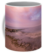 Beach Sunset In Connecticut Landscape Coffee Mug