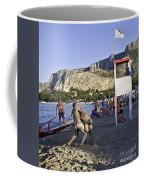 Beach Throw Down Coffee Mug