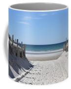 Beach Time Entrance Coffee Mug